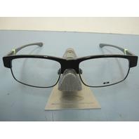 OAKLEY mens RX eyeglass frame YARDDOG 2 Black/Retina OX1093-0655 NEW In Case/Box