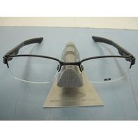 OAKLEY mens DOUBLE TAP RX eyeglass frame Black OX3123-0151 NEW w/Oakley case/box