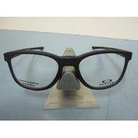 OAKLEY mens RX eyeglass frame Cloverleaf Trubridge Black OX8102-0152 New In Box