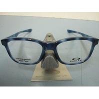 OAKLEY mens RX eyeglass frame Cross Step Trubridge Tortoise OX8106-0550 New Box