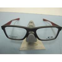 OAKLEY mens RX eyeglass frame Fin Box Trubridge Steel OX8108-0251 New In Box