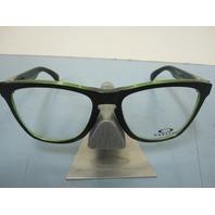 OAKLEY mens RX eyeglass frame Frogskin Eclipse Green OX8131-0254 New In Box