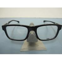 OAKLEY mens RX eyeglass frame Junkyard Polished Black OX1074-0653 New In Box
