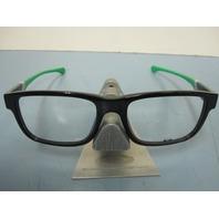 OAKLEY mens RX eyeglass frame Junkyard Black/Green OX1074-0255 New In Box