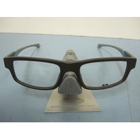 OAKLEY mens RX eyeglass frame Junkyard 2 Brown/Grey OX1097-0353 New In Box