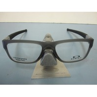 OAKLEY mens RX eyeglass frame Marshal Trubridge Smoke OX8091-0253 New In Box