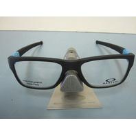 OAKLEY mens RX eyeglass frame Marshal Trubridge Sky Blue OX8091-0453 New In Box