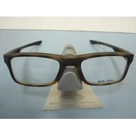 OAKLEY mens RX eyeglass frame Plank 2.0 Tortoise OX8081-0449 New In Box w/Case