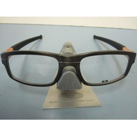 OAKLEY mens Panel RX eyeglass frame Grey Bronze OX3153-0553 New In Box/Case