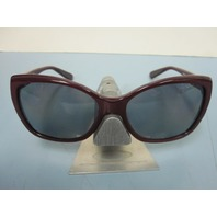 OAKLEY womens NEWS FLASH sunglass Pomegranate/Grey Polarized OO2025-05 New case