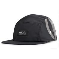 Oakley Factory Pilot 5 Panel Hat Black 911619 Jet Black 1 Size Fits All NEW w/tag