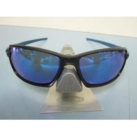 OAKLEY mens CARBON SHIFT sunglass Matte Black/Sapphire OO9302-02 NEW In O Baggy