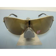 OAKLEY womens DISTRESSED sunglass Gold/Bronze Polarized OO4073-05 New in case