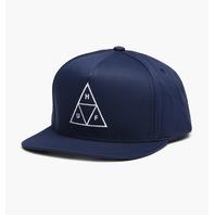 Huf `18 Triangle Snapback Hat Mens Unisex Cap Headwear New w/tag Skateboard Surf