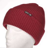 HUF snowboard ski BMX skateboard surf Usual Beanie Red New with tags