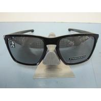 OAKLEY mens SLIVER XL sunglass Black/Prizm Black Iridium OO9341-1757 New