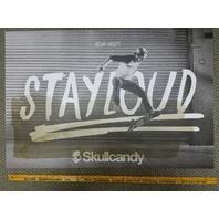 Skullcandy Sean Malto Skateboard Dealer Promotional Doormat New Old Stock Rare