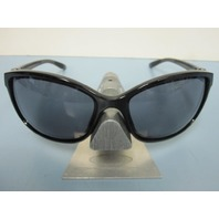 OAKLEY womens Step Up Sunglass Polished Black/Grey OO9292-02 NEW in Case/Box
