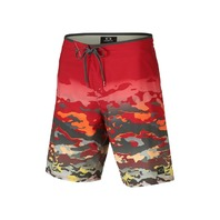 """OAKLEY surf swim Mens Reverb 19'' Boardshort 34"""" Red Line New With Tags"""