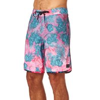 """OAKLEY surf swim Mens Transducer 19'' Boardshort 34"""" Red Line New With Tags"""