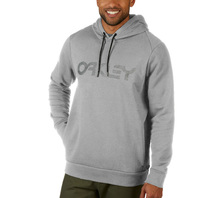 OAKLEY mens Mark II Pullover Hoodie Heather Grey Large New With Tag