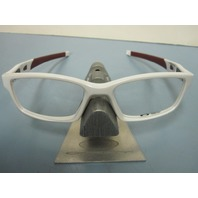 OAKLEY mens RX frame CROSSLINK pearl/team cardinal OX8027-0453 NEW In Box