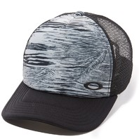 OAKLEY snowboard surf GOLF Mesh Sublimated Snapback Hat Black NEW tags Free Ship