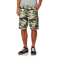 "OAKLEY Mens Foundation Cargo Shorts 34"" Olive Camo 441982 New With Tags"