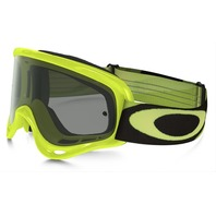 Oakley mens O-Frame MX Goggle Racer Green Yellow/Dark Grey OO7029-30 New in Box