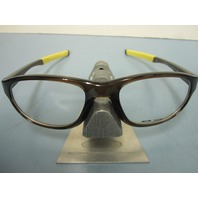 OAKLEY mens RX eyeglass frame CROSSLINK STRIKE BARK OX8048-0354 NEW in zip case