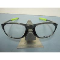 OAKLEY mens RX eyeglass frame CROSSLINK STRIKE smoke OX8048-0256 NEW w/zip case