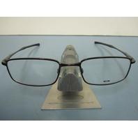 OAKLEY mens RX eyeglass frame CASING brown OX3110-0252 NEW in Oakley case