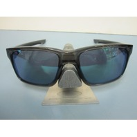 OAKLEY mens MAINLINK sunglass Grey Smoke/Jade Iridium OO9264-04 NEW baggy