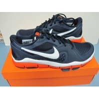 442031-418 Nike Free TR2 Mens Shoe Size 11 Running Sneaker Obsidian/White/Orange