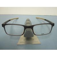 OAKLEY mens RX eyeglass frame MILESTONE 2.0 olive OX8047-0550 NEW w/Oakley case