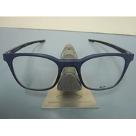 OAKLEY mens RX eyeglass frame MILESTONE 3.0 denim OX8093-0349 NEW w/Oakley case