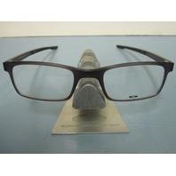 OAKLEY mens RX eyeglass frame MILESTONE 2.0 ink OX8047-0250 NEW w/Oakley case