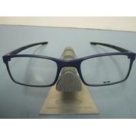 OAKLEY mens RX eyeglass frame MILESTONE 2.0 denim OX8047-0352 NEW w/Oakley case