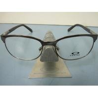 OAKLEY womens DESCENDER chocolate OX3124-0253 RX eyeglass frame NEW w/O case