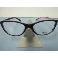 OAKLEY womens DOWNSHIFT purple marble RX eyeglass frame OX1073-0752 NEW w/case