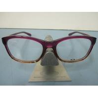 OAKLEY womens RX eyeglass frame TAUNT purple fade OX1091-0352 NEW w/Oakley case
