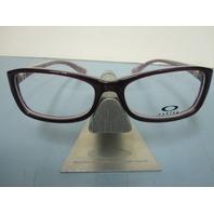 OAKLEY womens SHORT CUT purple grid RX eyeglass frame OX1088-0353 NEW w/O case