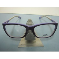 OAKLEY womens BLAMELESS 50/50 purple RX eyeglass frame OX1103-0352 NEW in O case