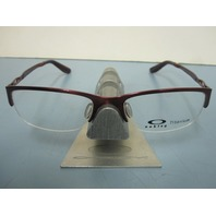 OAKLEY womens CHAINRING 51 berry RX eyeglass frame OX5074-0351 NEW in O case