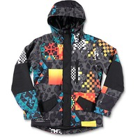 NEFF snowboard SKI skateboard 2017 DAILY YOUTH JACKET Psychosafari LG NEW w/tags