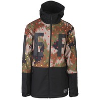 NEFF snowboard SKI skateboard 2017 DAILY SOFTSHELL mens JACKET camo LG NEW w/tag