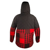 NEFF snowboard SKI skateboard BLOOM TECH JACKET Red Plaid mens LG NEW