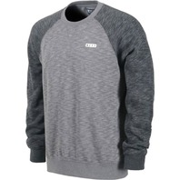 NEFF snowboard SKI skateboard DAILY FLEECE CREW Charcoal mens MED NEW w/tag