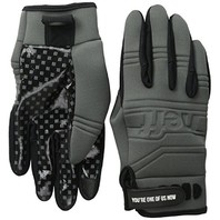 NEFF snowboard ski winter/spring DAILY PIPE GLOVE mens LG grey BRAND NEW w/tags