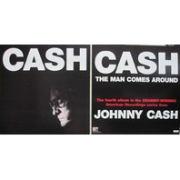 Johnny Cash 2002 Man Comes Around promotional flat New Old Stock Mint Condition